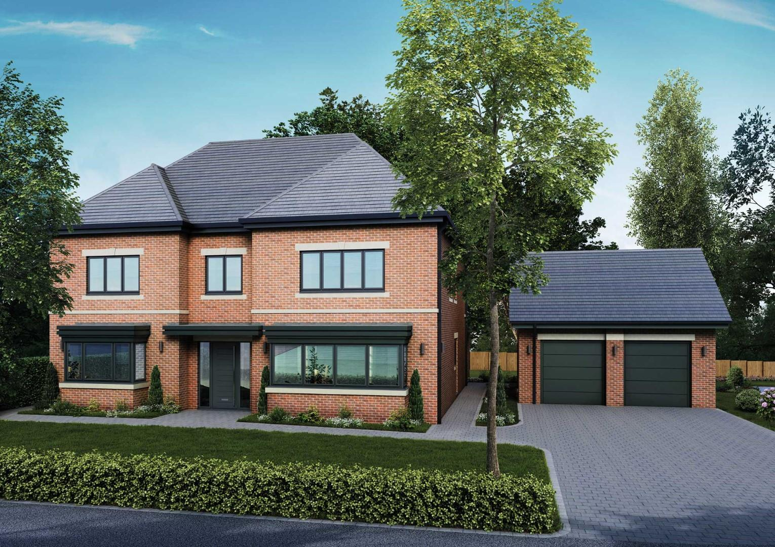 Plot 1, Cawsand House, Helen's Gate, Plymouth Road, Barnt Green, B45 8JE